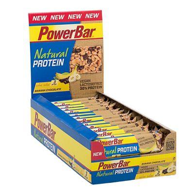 Barritas de proteínas PowerBar Natural (40 gr x 24)