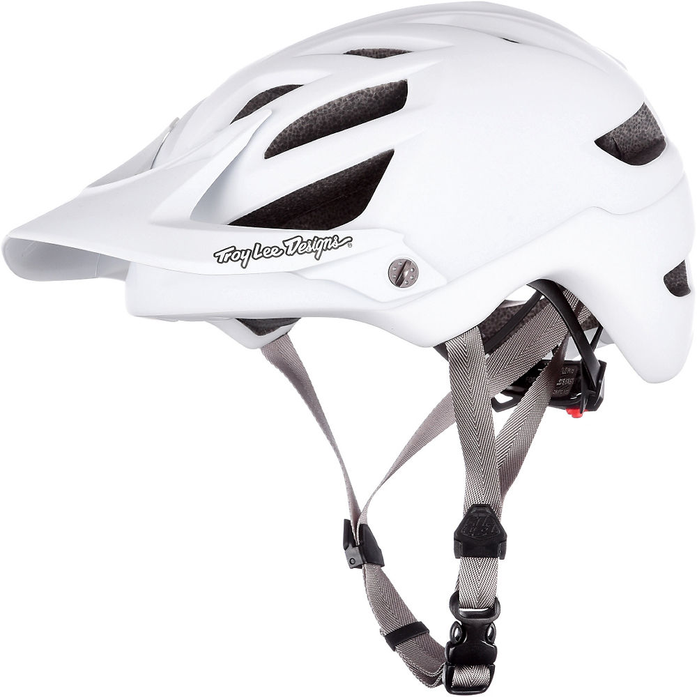 Image of Casque Troy Lee Designs A1 - Drone Blanc - XL/XXL