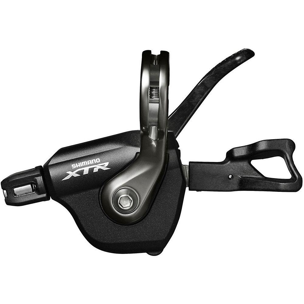 Shimano Xtr M9000 2-3 Spd Trigger Shifter Front - Black - Front - Bar Mount  Black