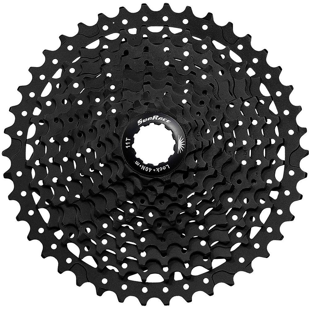 Sunrace Ms3 10 Speed Shimano - Sram Cassette - Black - 11-40t  Black