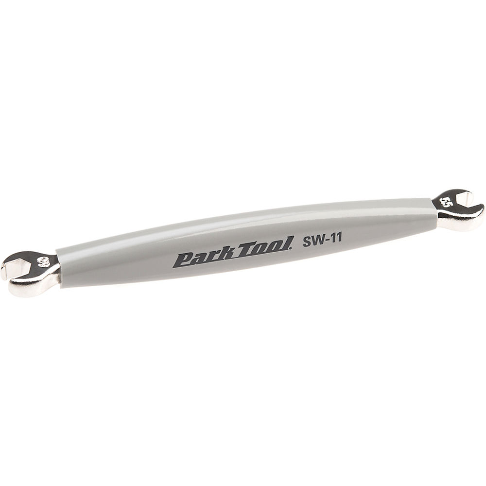 Image of Park Tool Double Ended Spoke Wrench SW-11 - Silver - Campagnolo, Silver