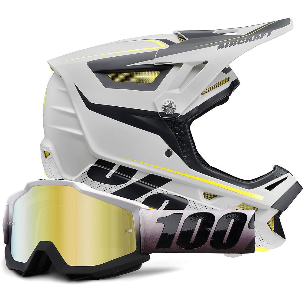 100% Aircraft MIPS Helmet & Goggle Bundle