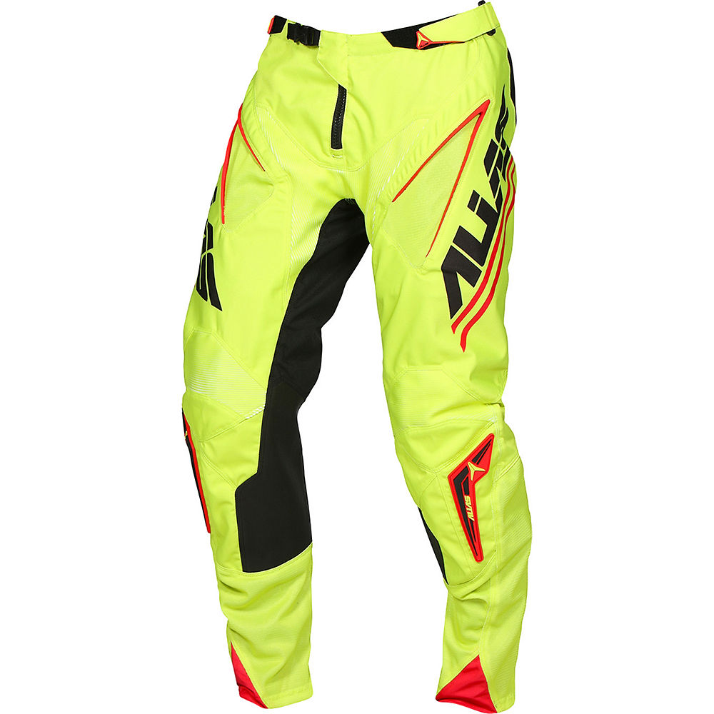 "Image of Alias A1 Analogue Pants - PROMO 2017 - Noir - Chartreuse - 32"", Noir - Chartreuse"
