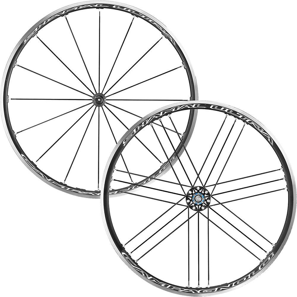 Juego de ruedas Campagnolo Shamal Ultra C17 (ajuste en 2 direcciones) - Negro - Shimano M11 Freehub, Negro