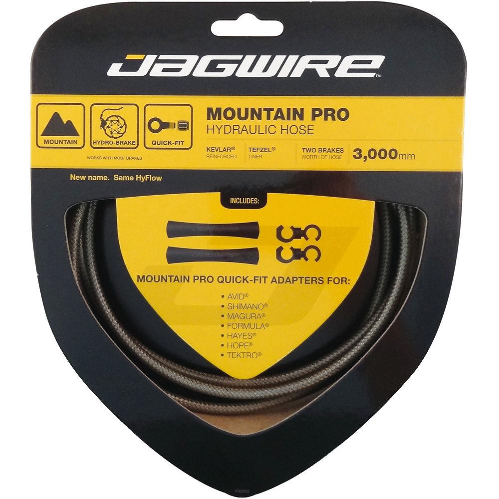 Image of Câbles de freins à disque Jagwire Mountain Pro Hydraulique - Carbone Argent