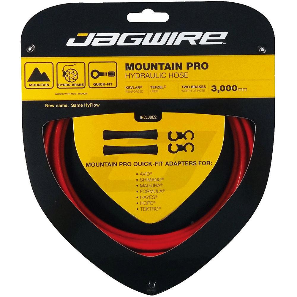 Image of Câbles de freins à disque Jagwire Mountain Pro Hydraulique - Rouge