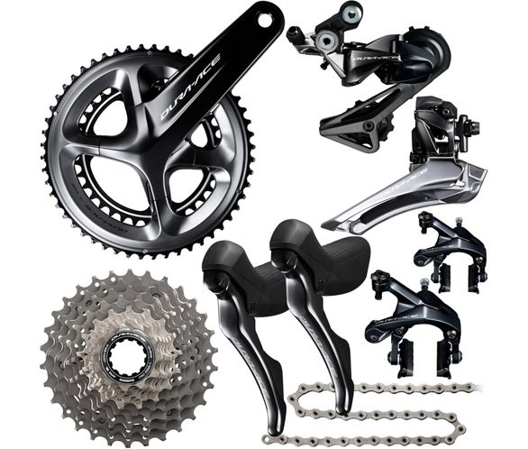 98d0f32c4af Shimano Dura-Ace R9100 11 Speed Groupset | Chain Reaction Cycles