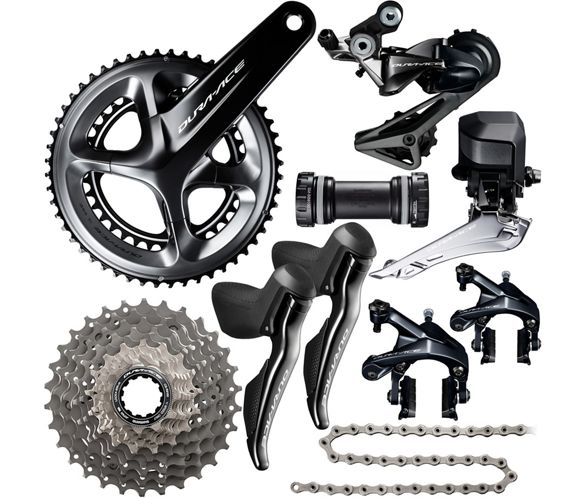 babdb6a01c9 Shimano Dura-Ace R9150 Di2 11 Speed Groupset | Chain Reaction Cycles