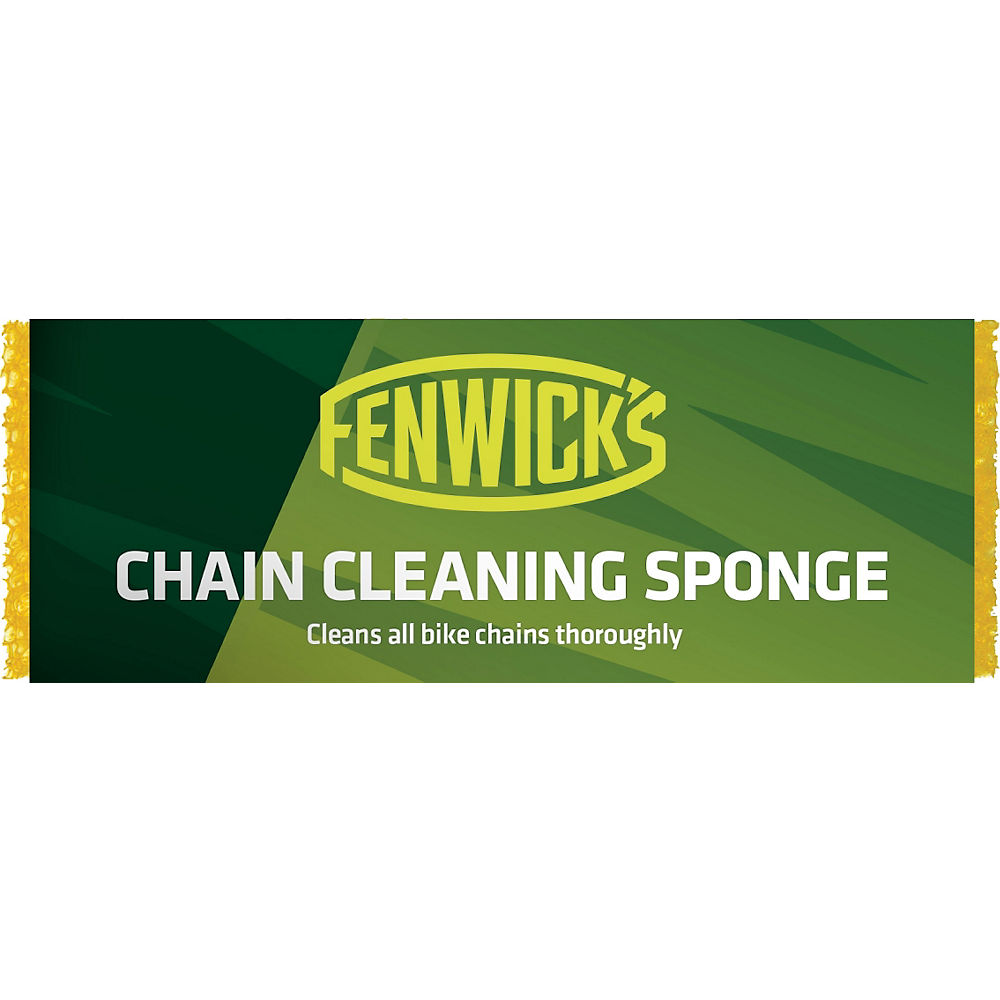 Image of Eponge Fenwicks Chain Cleaning - Jaune, Jaune