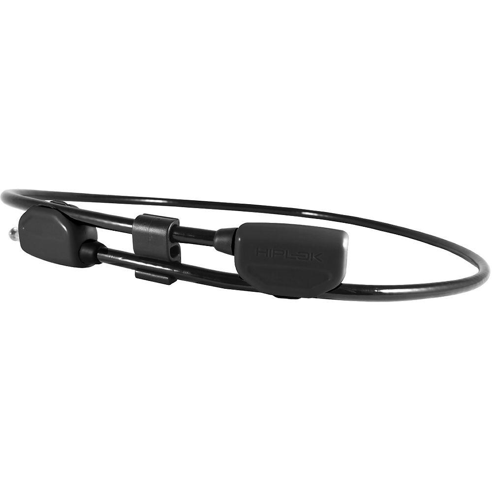 Hiplok Pop Cable Bike Lock - Black  Black