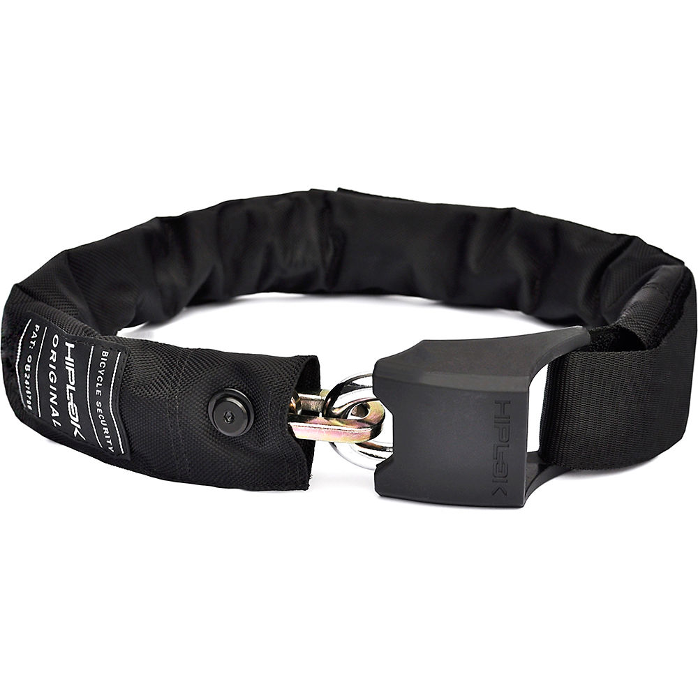 Lucchetto a Catena Hiplok V1.50 Wearable - nero - Sold Secure Silver Rated, nero