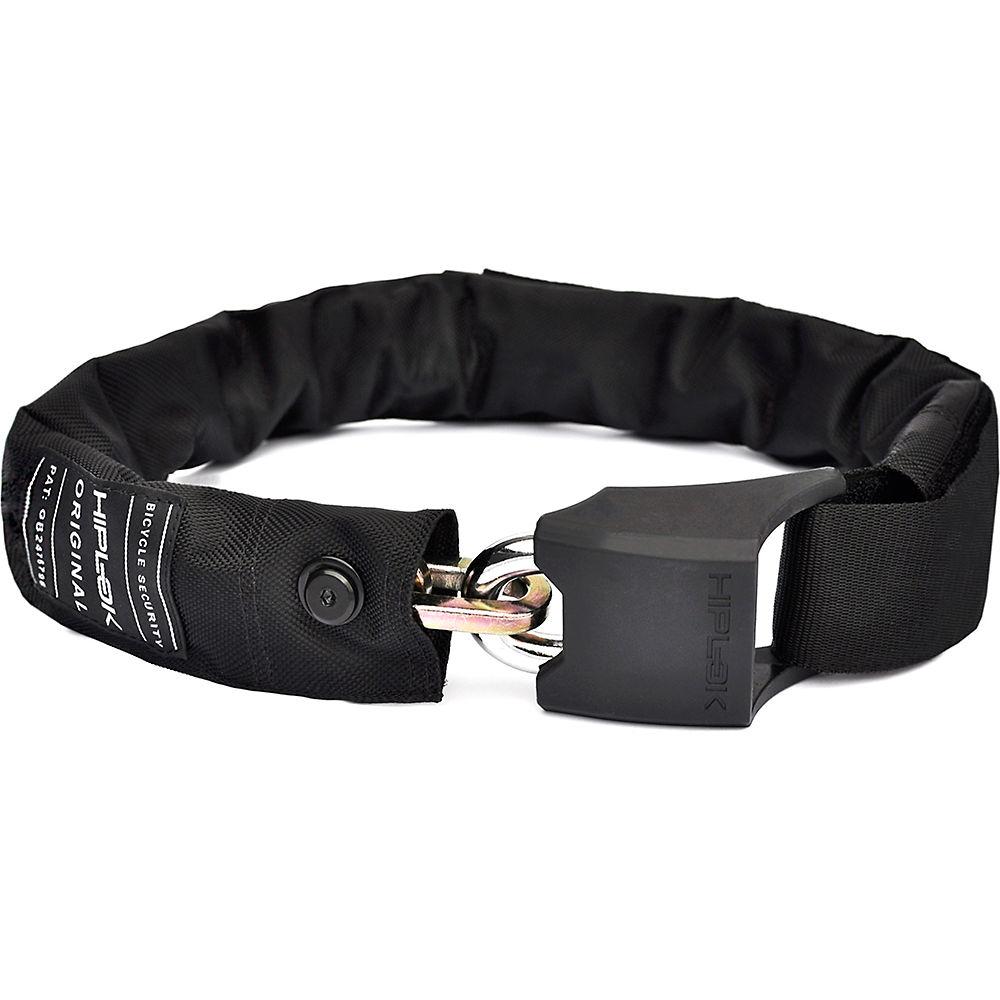 Hiplok Original Bicycle Chain Lock - Black - Sold Secure Silver Rated  Black