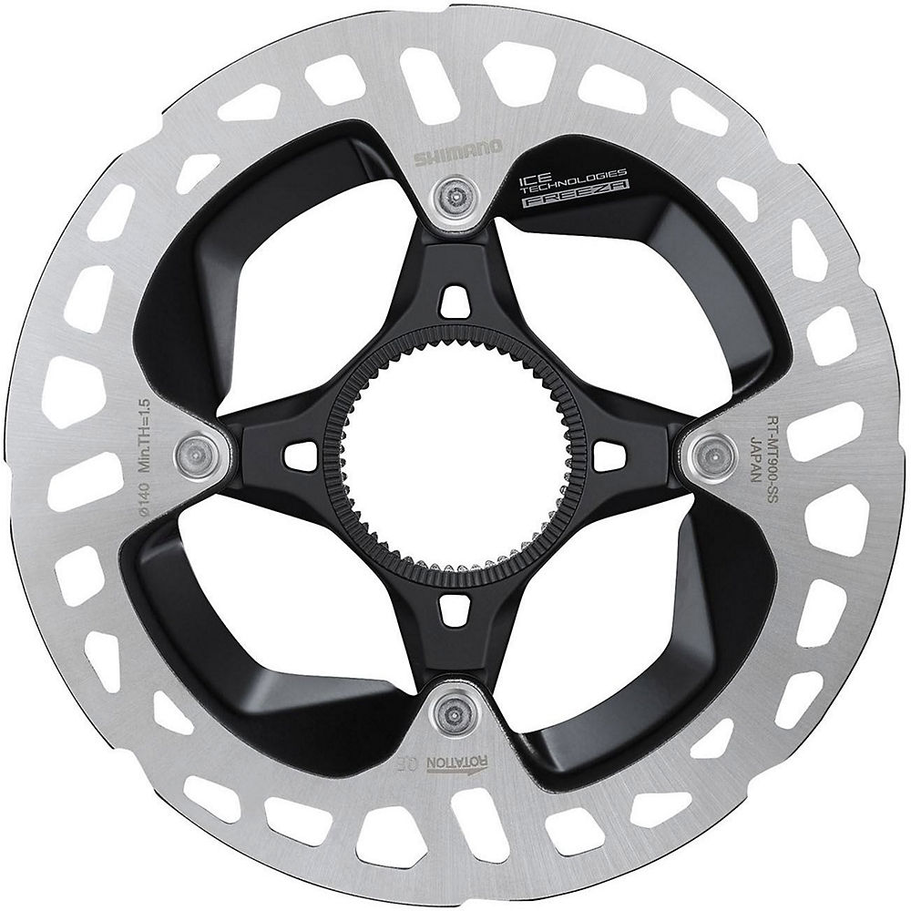Shimano RT900 Ice-Tech FREEZA CL Disc Rotor - Black - 140mm, Black