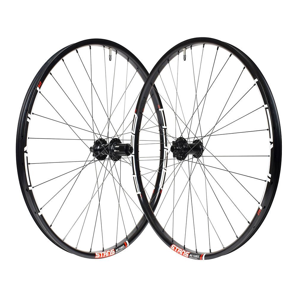 Stans No Tubes Arch Mk3 Mtb Wheelset - Black - 15 X 100mm Frontand142 X 12mm Rear  Black