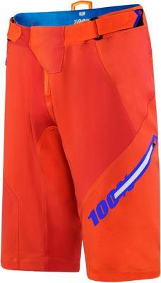 Shorts 100% Airmatic Blaze - Naranja - 28, Naranja