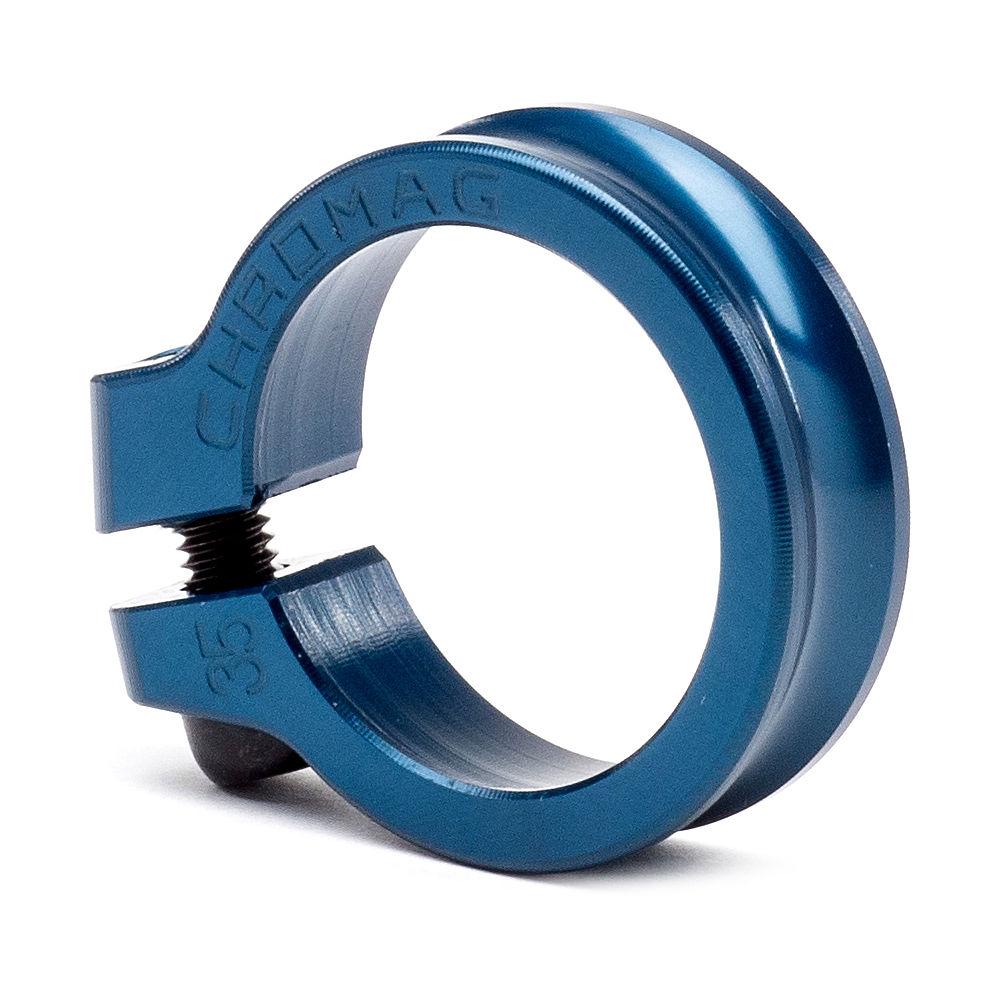 Cierre de sillín Chromag NQR - Azul - 32.0mm, Azul