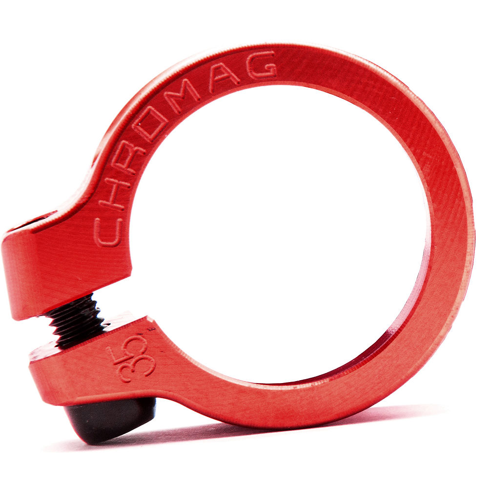 Cierre de sillín Chromag NQR - Rojo - 32.0mm, Rojo