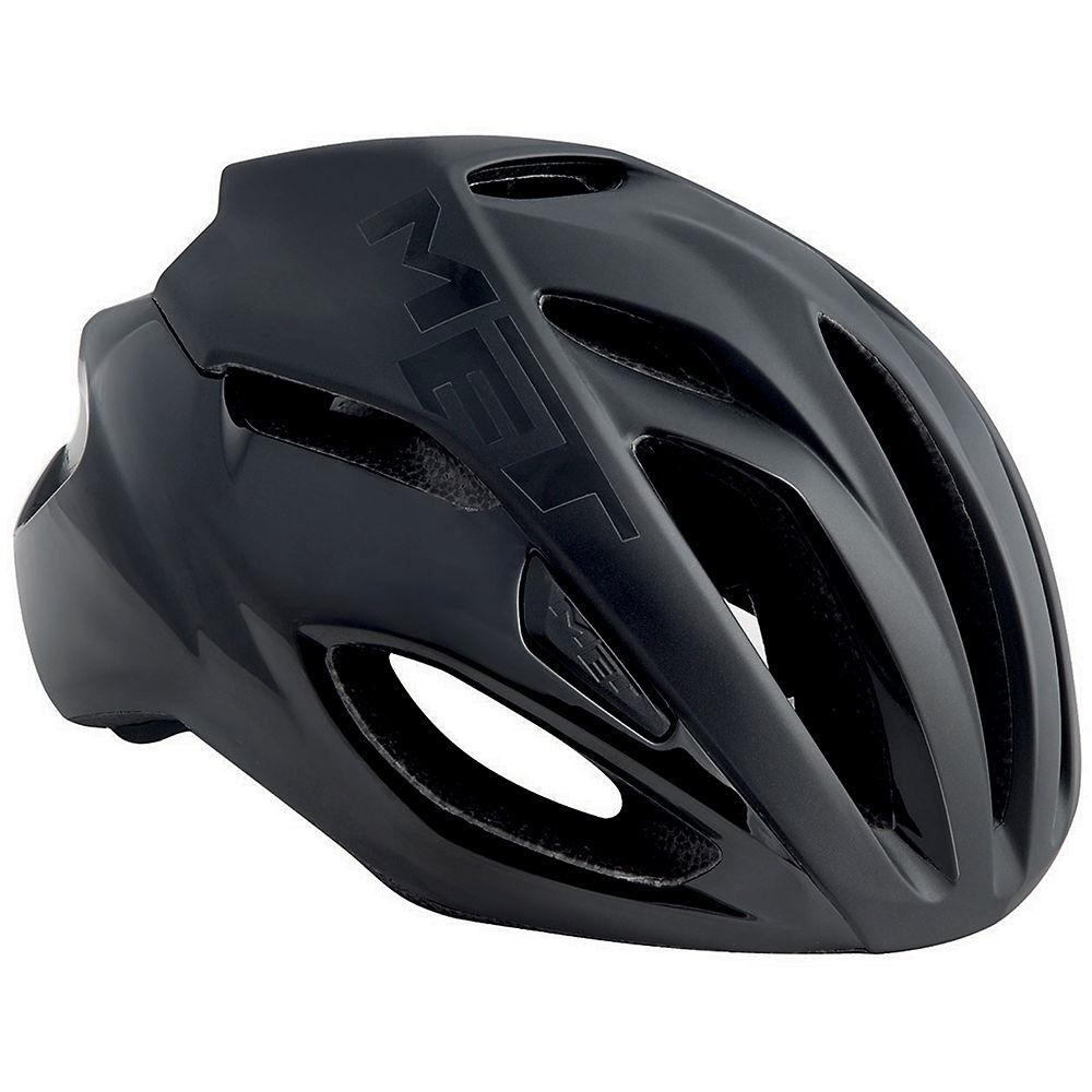 MET Rivale Helmet 2018 - Black - White, Black - White