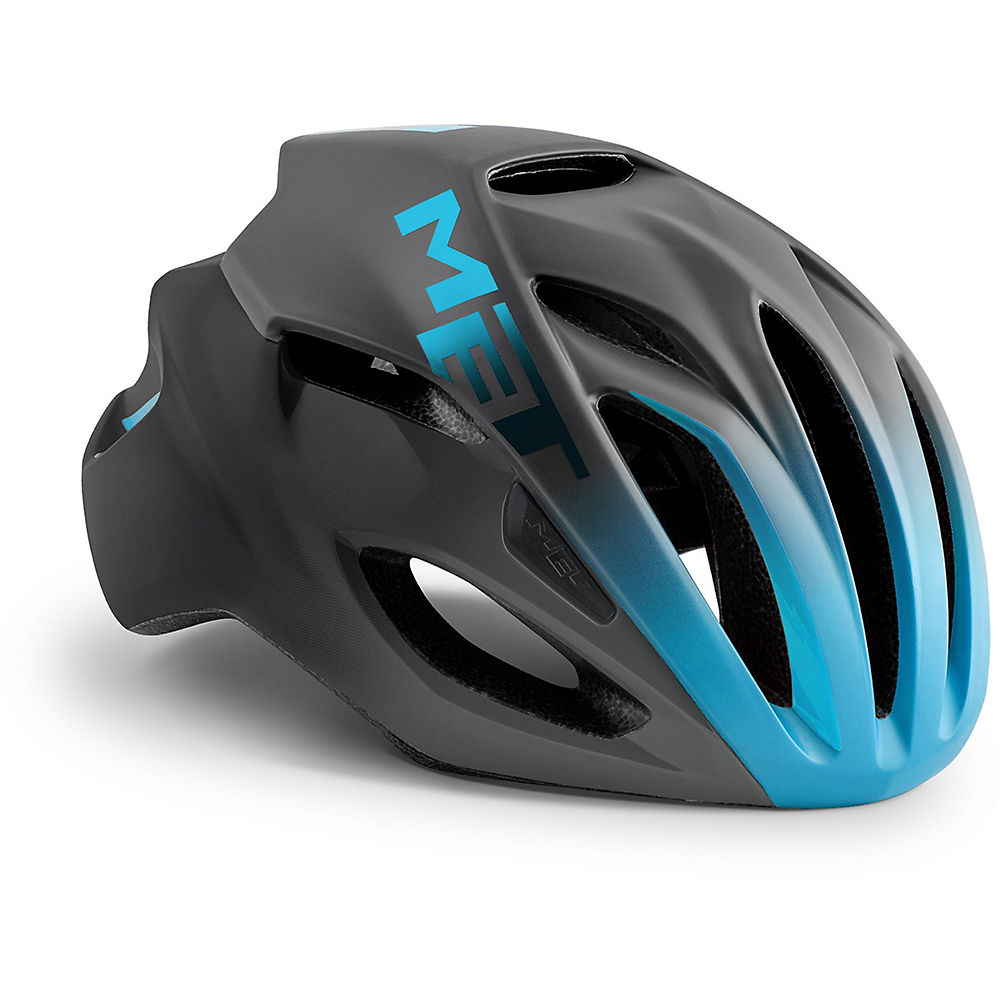 MET Rivale Helmet 2018 - Black-Multi - S, Black-Multi