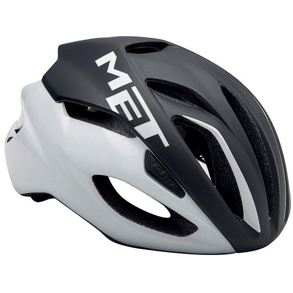 MET Rivale Helmet 2018 - Black-White, Black-White