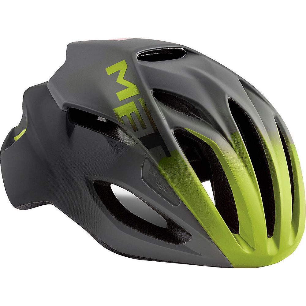MET Rivale Helmet 2018 - Black-Yellow, Black-Yellow