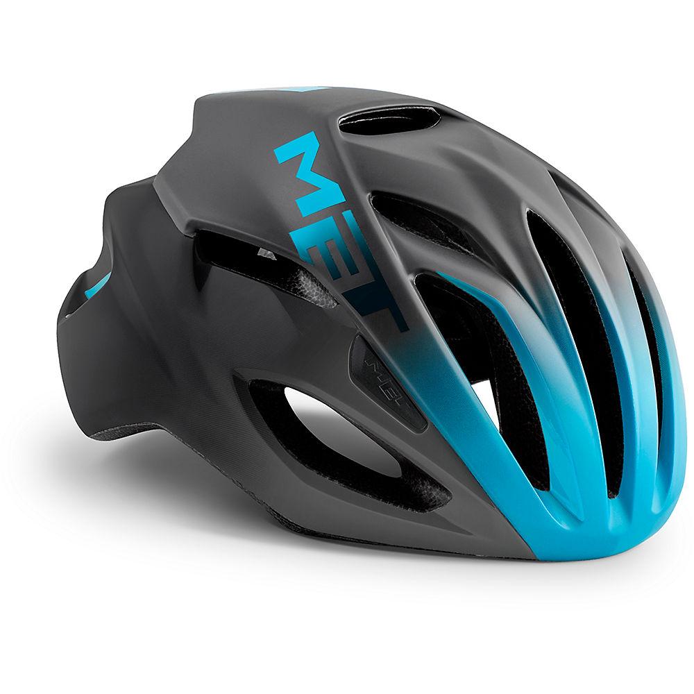 MET Rivale Helmet 2018 - Blue-Black - S, Blue-Black