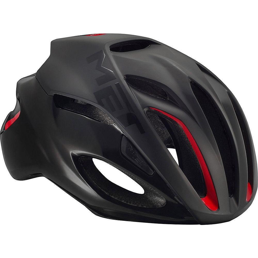 MET Rivale Helmet 2018 - Matt Black, Matt Black