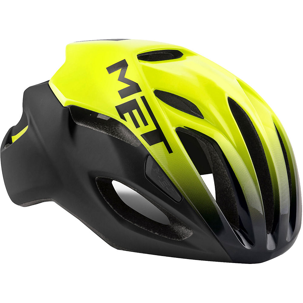 MET Rivale Helmet 2018 - Yellow-Black - S, Yellow-Black