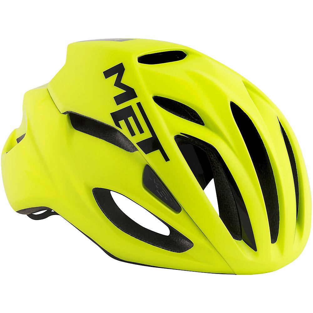 MET Rivale Helmet - Yellow-Yellow - S, Yellow-Yellow