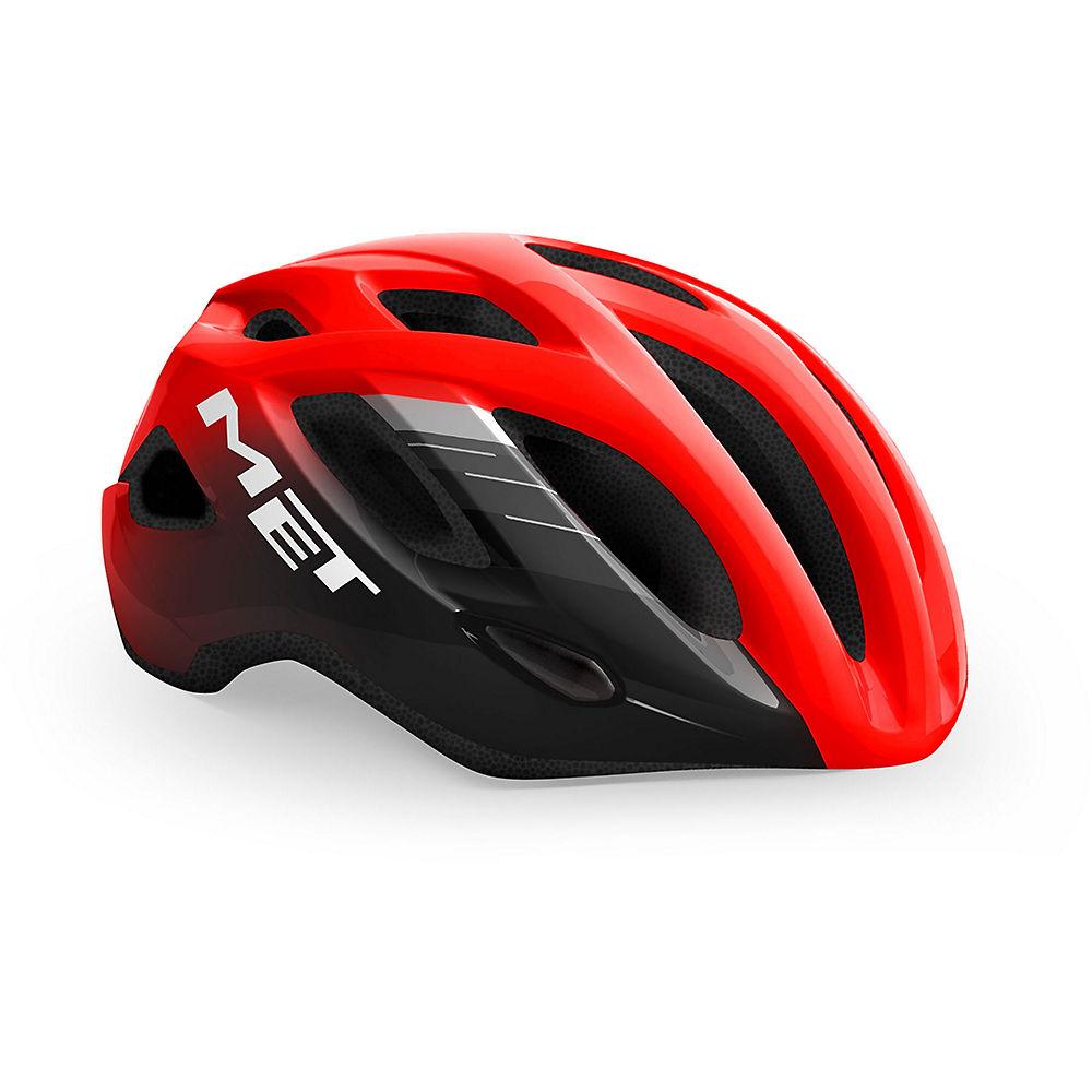 MET Idolo Helmet - Red Black-Glossy - XL, Red Black-Glossy