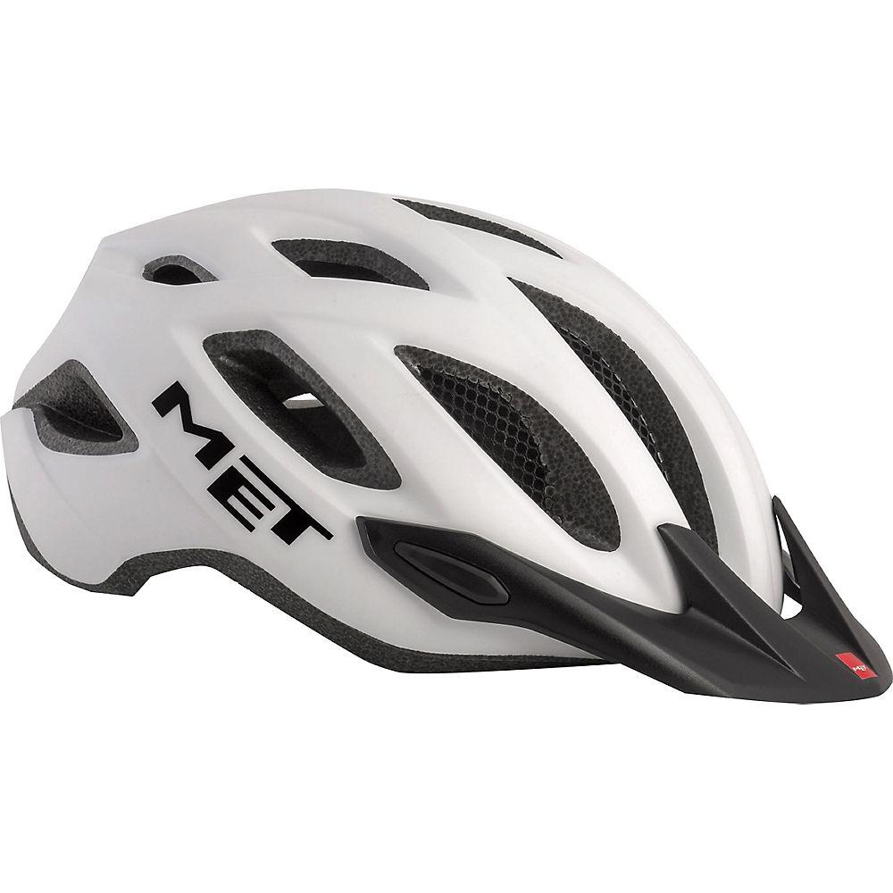 Met Crossover Helmet 2018 - White-white - One Size  White-white