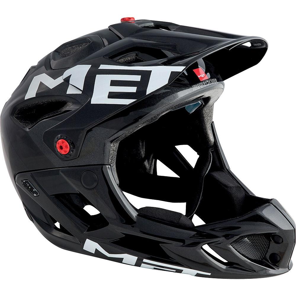 MET Parachute Helmet 2018 – Anthracite – Black – S, Anthracite – Black