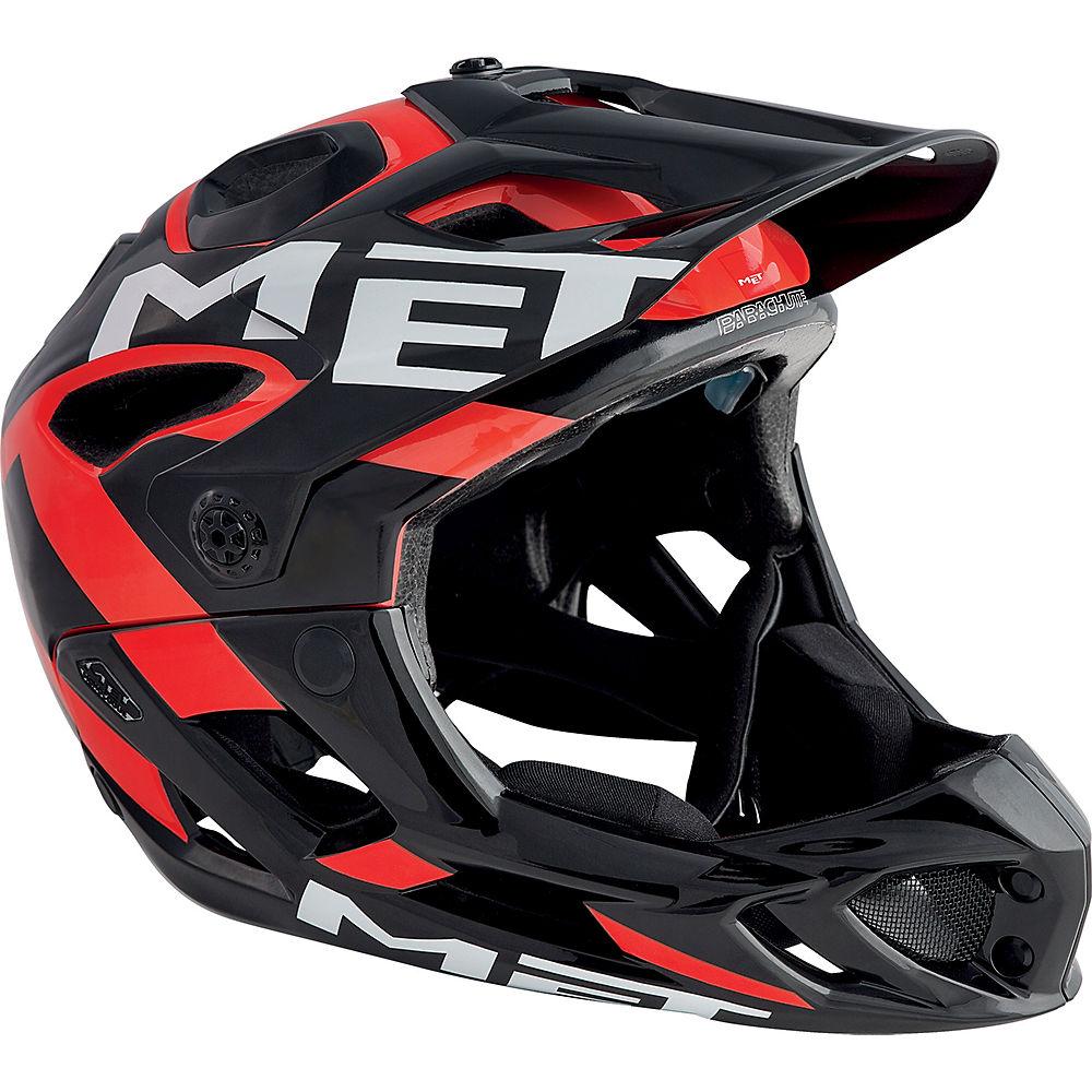 MET Parachute Helmet 2018 - Black - Red, Black - Red