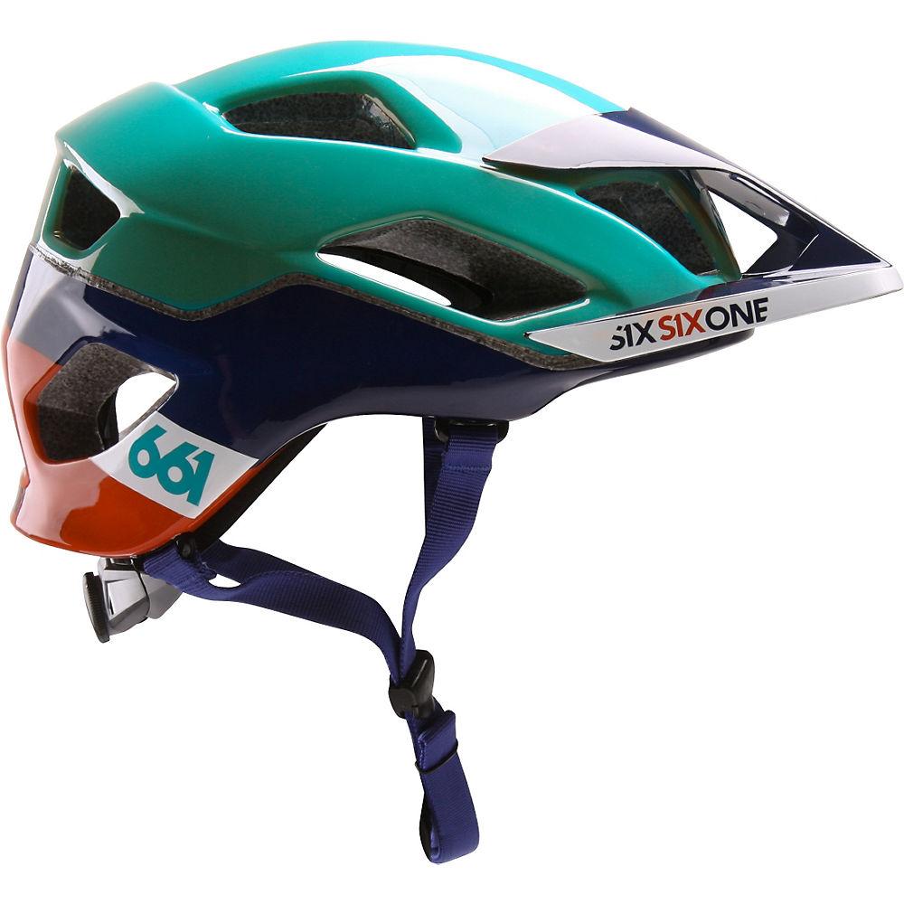 Image of Casque 661 Evo AM - Orange - Bleu - XL/XXL