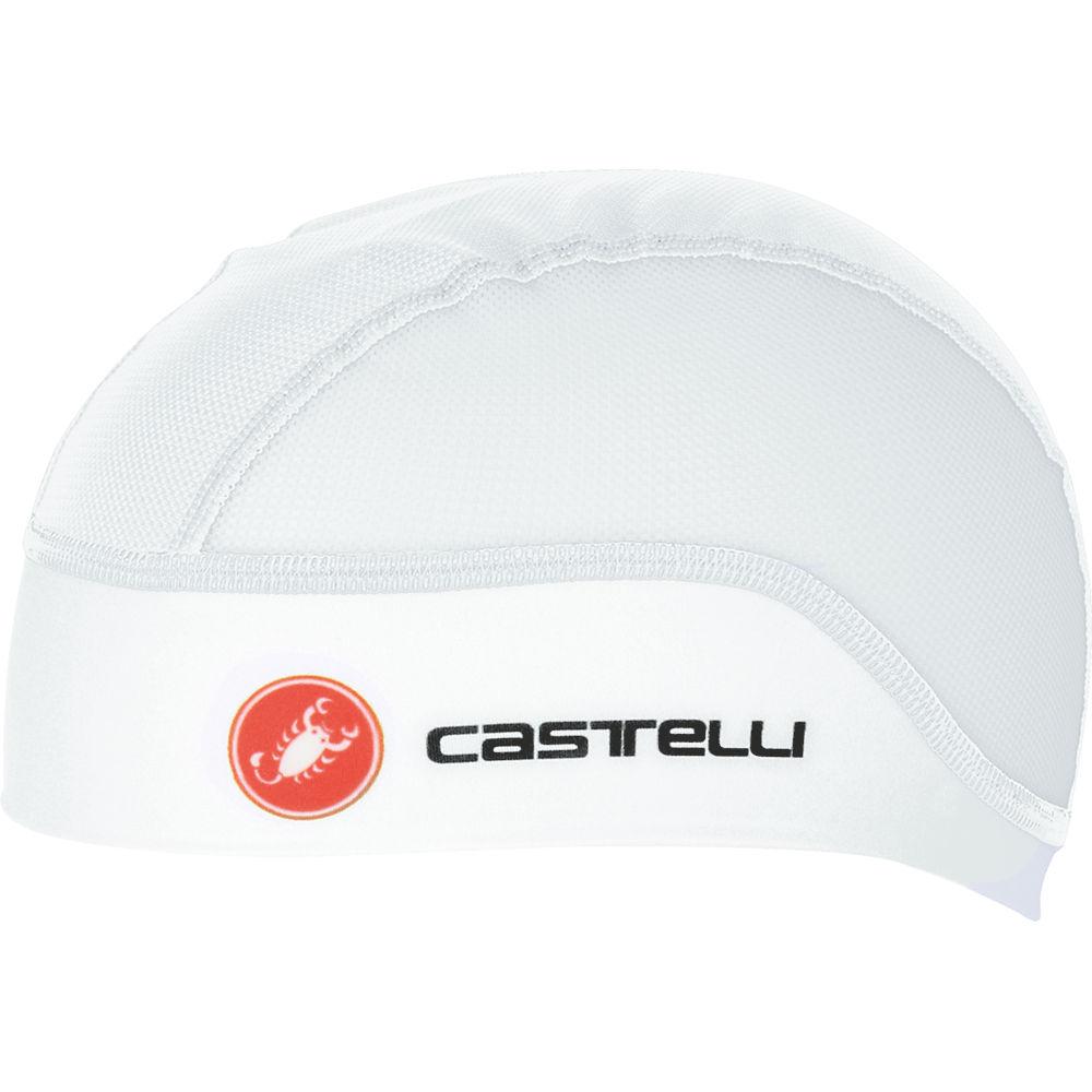 Image of Bonnet Castelli Summer - Blanc, Blanc