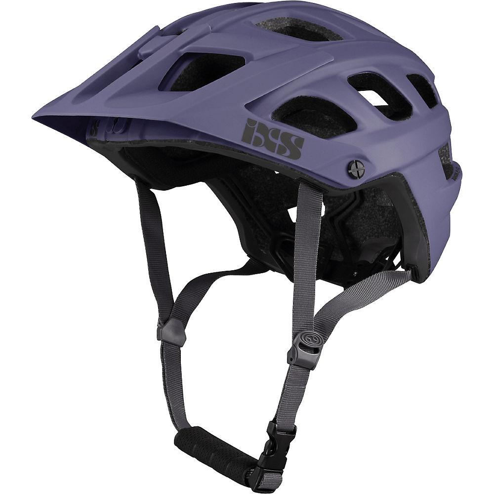 IXS Trail EVO Helmet – Grape – S/M, Grape