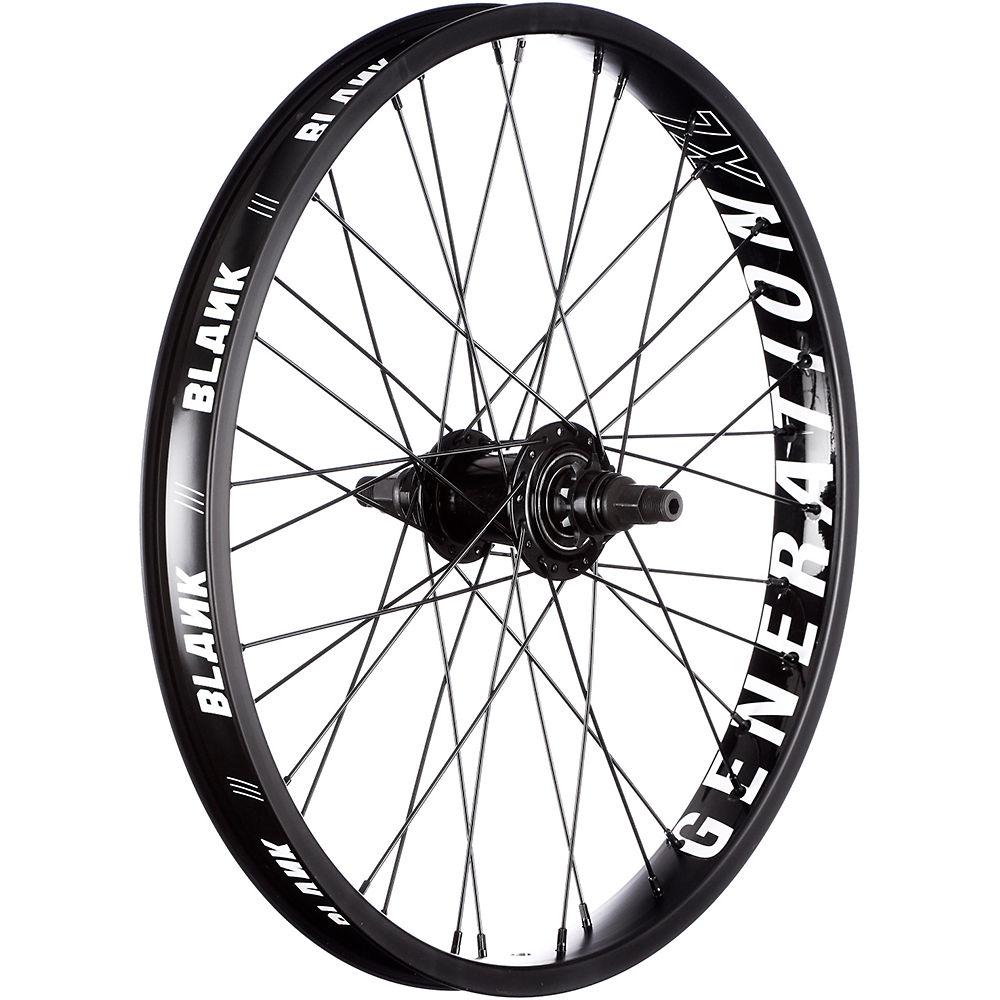 Blank Generation Freecoaster Wheel – Black – 20″, Black
