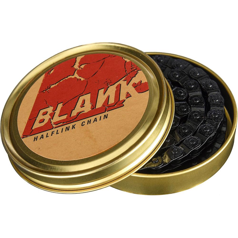 Blank 410 Chain With Halflink - Black - 1/2 X 1/8  Black