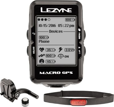 Ciclocomputador GPS Lezyne Macro HRSC Loaded