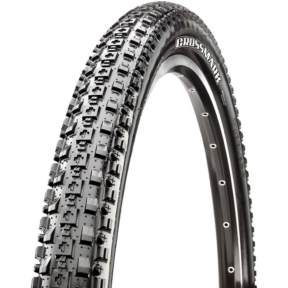 Maxxis Crossmark MTB Tyre - EXO - TR - Black - Folding Bead, Black