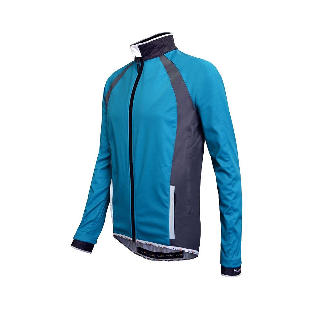 Funkier Tacona Soft Shell Windstopper Jacket - Blue - M  Blue