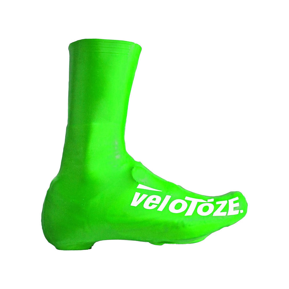 Velotoze Waterproof Aero Overshoe - Green  Green