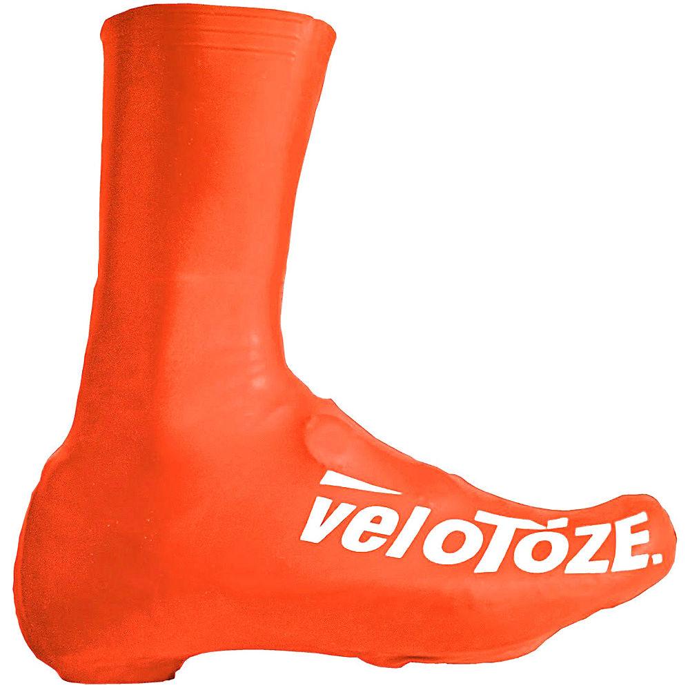 VeloToze Waterproof Aero Overshoe - Orange, Orange