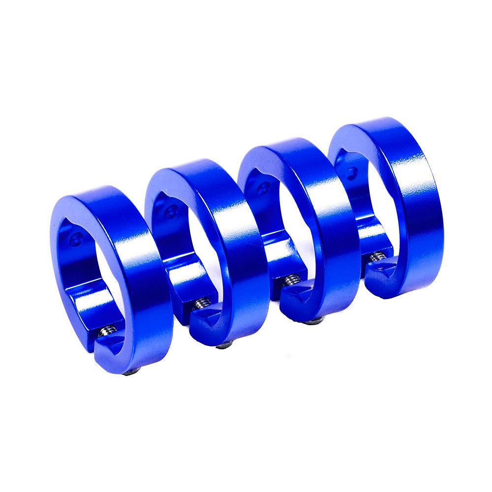 Image of Embout de cintre Sixpack Racing Lock-On - Bleu - Pack of 4, Bleu