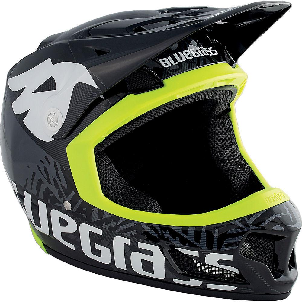 Bluegrass Brave Helmet 2017 – Black – Yellow, Black – Yellow