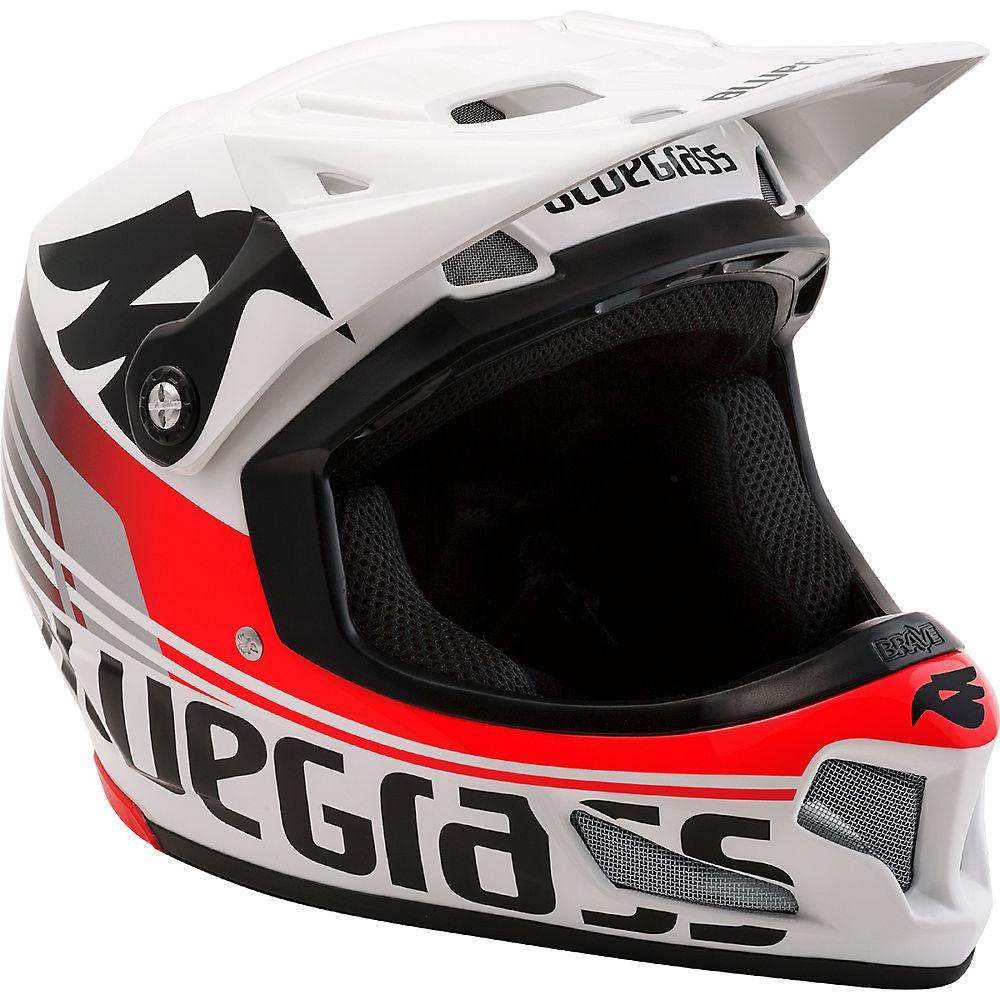 Bluegrass Brave Helmet 2017 – White-Red, White-Red