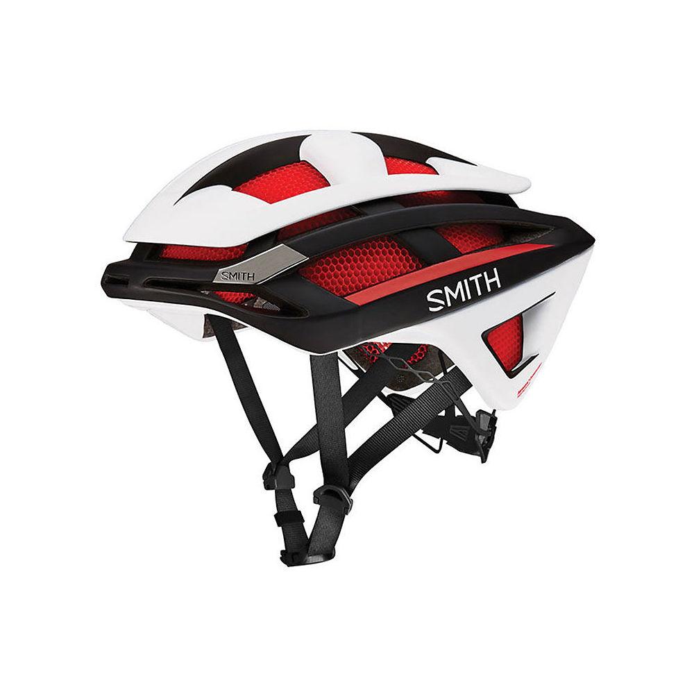 Smith Overtake MIPS Helmet 2017 – Matte Red White, Matte Red White
