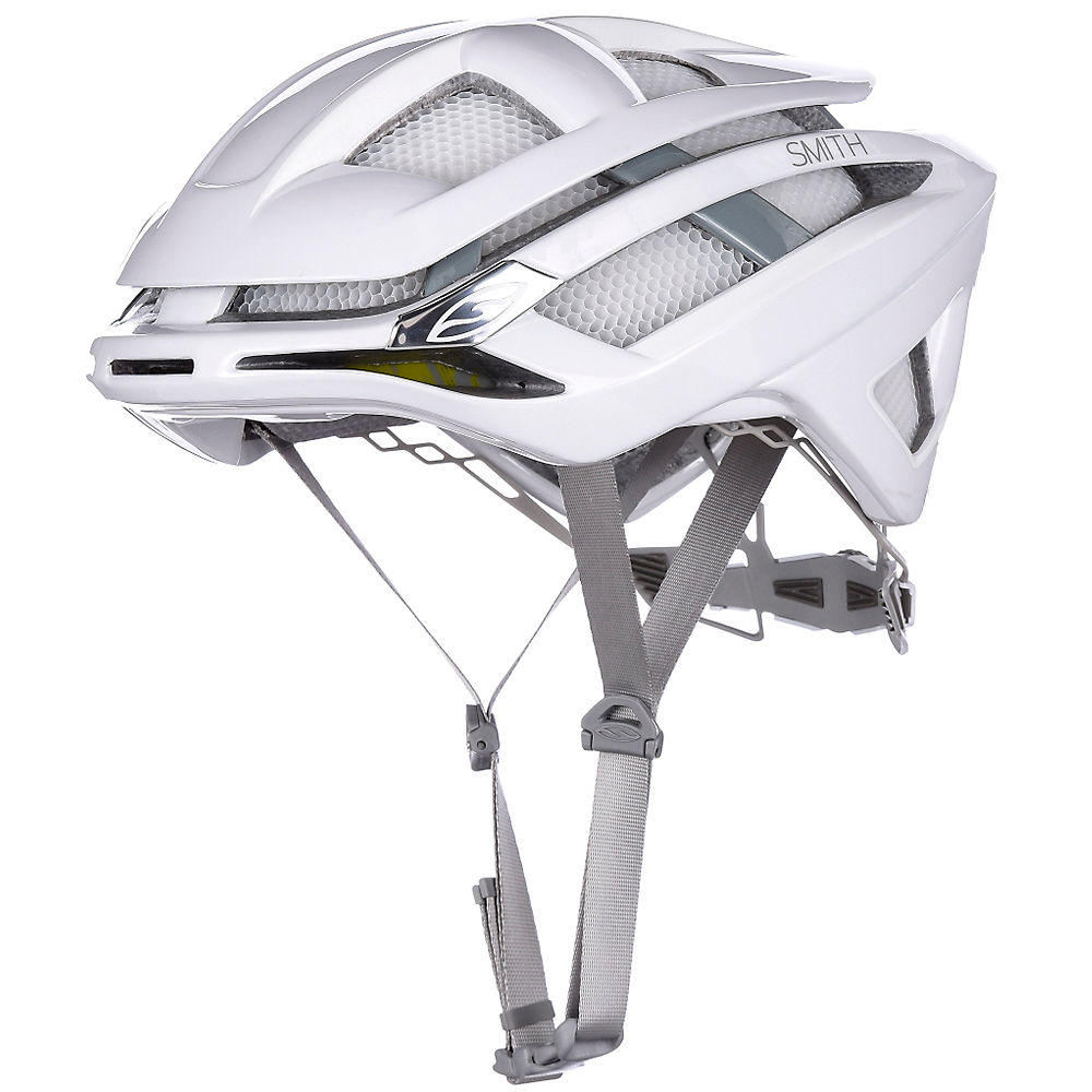 Smith Overtake MIPS Helmet 2017 – White Frost, White Frost