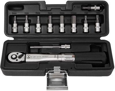 Juego de llave dinamométrica X-Tools Essential - Negro - One Size, Negro