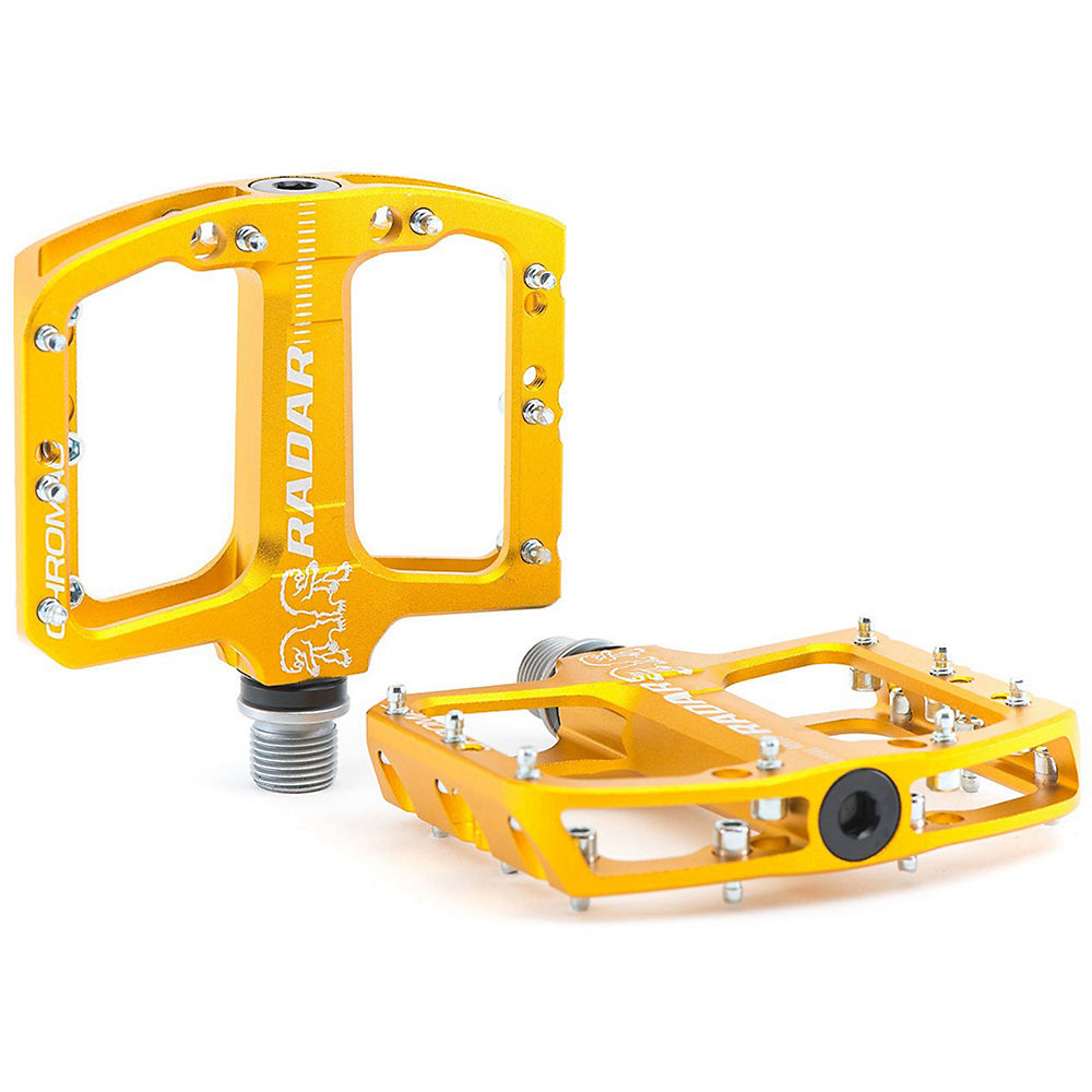 Chromag Radar Youth MTB Pedals - Gold, Gold